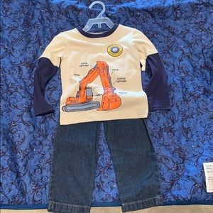Boys Toddler Fisher Price Jean outfit. Size 2 T